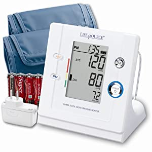 Lifesource UA-853ACP Premium Stand-Up Blood Pressure Monitor