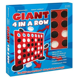 Pressman Giant Four In A Row (Sequence Board Game Jumbo compare prices)