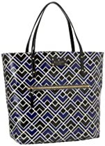 Hot Sale Kate Spade New York Flicker Fabric-Bon  Tote,Yves Blue,One Size