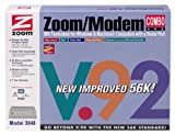 ZOOM Model 3048 External Serial 56K V.92 Fax Modem Combo ( Windows PC / Mac )