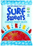 Surf Sweets Organic Fruity Bears, 2.75-Ounce Bags (Pack of 12)