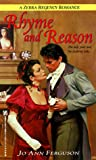 Rhyme And Reason (Zebra Regency Romance) (0821758500) by Ferguson, Jo Ann