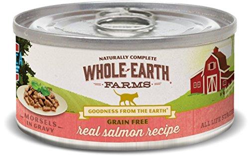 Whole Earth Farms Grain Free Real Salmon Recipe (Morsels In Gravy)