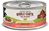 Whole Earth Farms Grain Free Real Salmon Recipe (Morsels In Gravy)