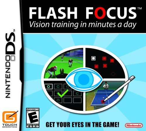Flash Focus:  Vision Training in Minutes a Day - Nintendo DS - 1