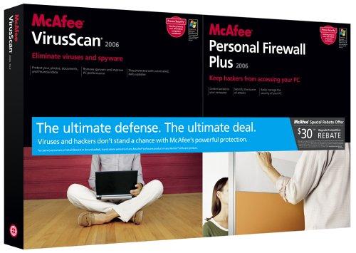 Mcafee Virusscan / Firewall Plus 2006 Bundle