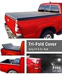 Premium TriFold Tonneau Truck Bed Cov...