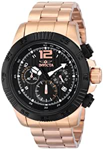"""Invicta Men's 15895 """"Speedway"""" Rose Gold-Plated Watch"""