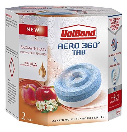 unibond-2091538-aero-360-fruit-sensation-moisture-absorber-refills-white-pack-of-2