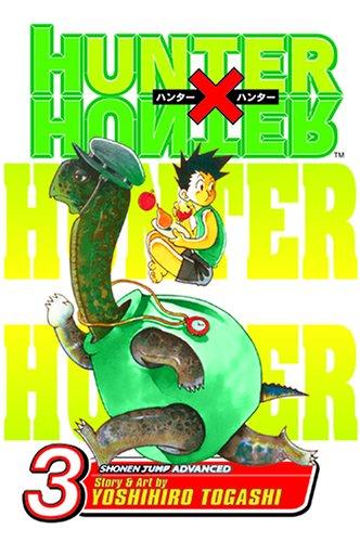HUNTER×HUNTER ハンターハンター コミック3巻 (英語版)