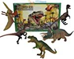 5 Piece Jumbo Dinosaur Playset Toy An...