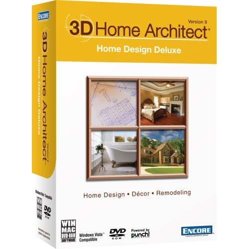 3D Home Architect Home Design Deluxe Version 9 .