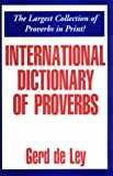img - for International Dictionary of Proverbs book / textbook / text book