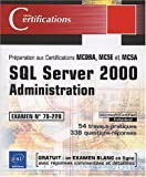 echange, troc Jérôme Gabillaud - SQL server 2000 administration