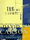 The End of Print: The Graphic Design of David Carson (0811811999) by Lewis Blackwell