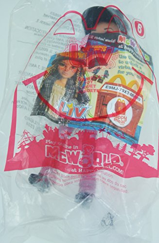 McDonalds Happy Meal Liv World Daniela Doll