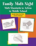 img - for Family Math Night: Math Standards in Action in Middle School book / textbook / text book