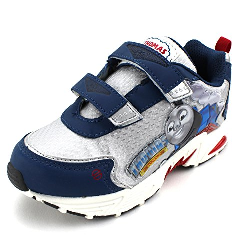 Thomas the Tank Engine Kids Light Up Sneakers (9 M US Toddler) (Thomas Train Shoes compare prices)