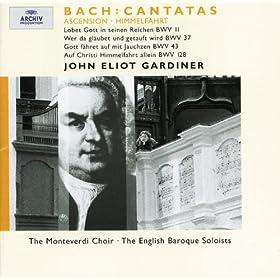 """J.S. Bach: Cantata """"Gott f�hret auf mit Jauchzen"""" BWV 43 / Part 1 - 4. Recitative: """"Und der Herr, nachdem er mit ihnen geredet hatte"""""""