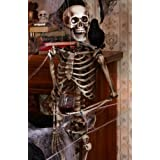 Lifesize Posable Skeleton Halloween Prop Picture
