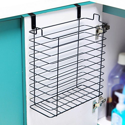 Neat-O Over the Cabinet Trash Can Basket Storage Organizer Holder (Over The Cabinet Trash Holder compare prices)