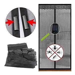 Amazon Com Magic Magnetic Door Curtain Mesh Bug Insect