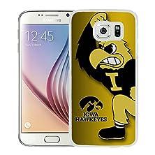 buy Samsung Galaxy S6 Iowa Hawkeyes White Screen Celphone Case Genuine And Unique Design