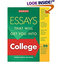 Essays That Worked–Examples of Successful College Applications