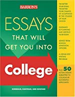 Essays That Will Get You into College  by Kaufman