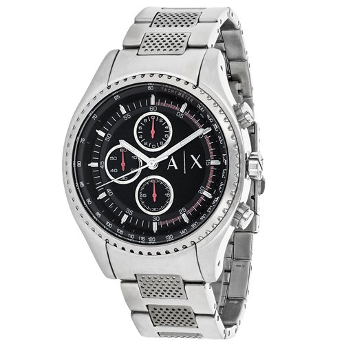 Armani-Exchange-Mens-AX1612-Analog-Display-Analog-Quartz-Silver-Watch