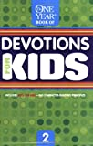 The One Year Devotions For Kids 1 One Year Book Of border=