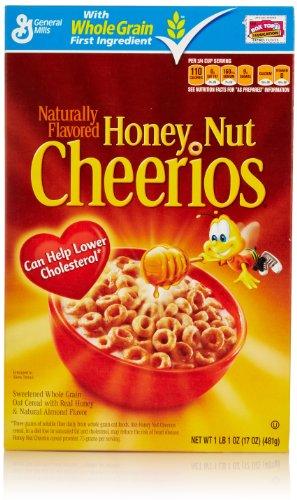 Honey Nut Cheerios Cereal, 17 Oz