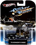 2013 Hot Wheels Retro Entertainment Smokey and the Bandit - 1975 KENWORTH W900 by Hot Wheels [Toy]