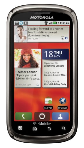 Motorola CLIQ2 Android Phone, Smoke Grey (T-Mobile)