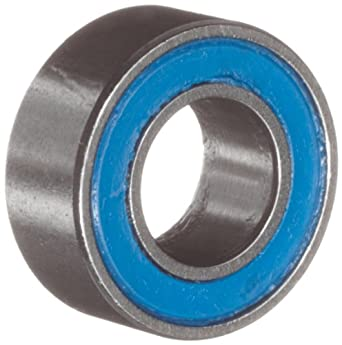 VXB Miniature Ball Bearing, Chrome Steel, Double Sealed, Metric