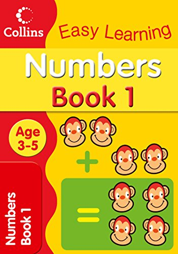 Numbers Age 3-5 (Collins Easy Learning Age 3-5), Buch