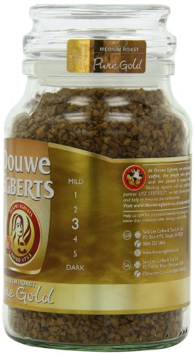Douwe Egberts Pure Gold Instant Coffee, Medium Roast, 7.05-Ounce, 200g