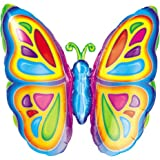 "Anagram International Bright Butterfly Foil Pack, 25"", NA"