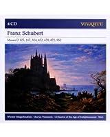 Schubert : Messes D 105, 167, 324, 452, 678, 872, 950
