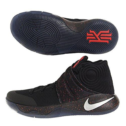 (ナイキ) Nike シューズ カイリー アービングKyrie 2 EP Blk/M.Sil/B.Crimson バスケットボール 26.5