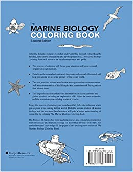 The Marine Biology Coloring Book, Second Edition: Thomas M