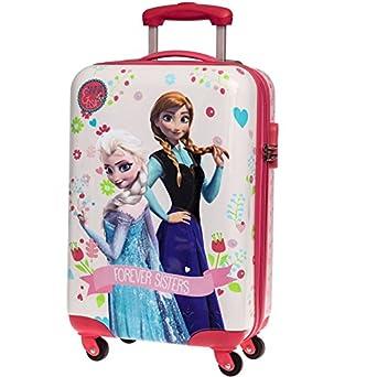 la reine des neiges valise cabine 55cm rose v tements et accessoires. Black Bedroom Furniture Sets. Home Design Ideas