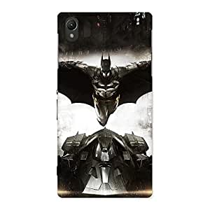 Radiant Knight Car Designer Back Case Cover for Sony Xperia Z1
