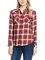 Levi's Camisa Mujer Tailrd Classic Western (Granate)