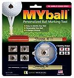 Green Keeper Myball Marking Tool, Gambler