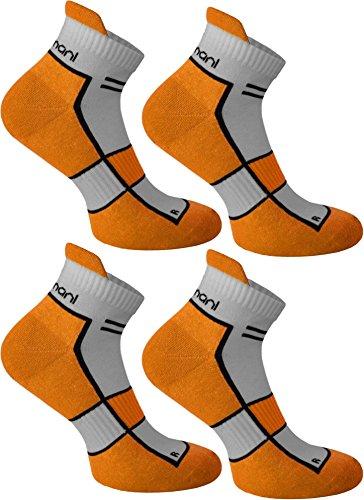 4paia di calzini Running Sneaker funzione, Bright Marinegold, 39/42