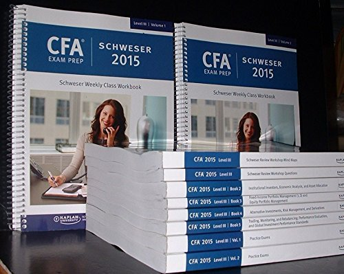 Offer] Kaplan Schweser CFA 2015 Level 1,2,3 - OTHER SHARES