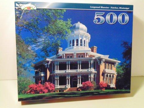 "Landolls 500 Piece Puzzle ""Longwood Mansion"" Natchez Mississippi"
