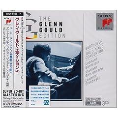 CD グールド独奏 ベートーヴェン:ピアノ協奏曲全集の商品写真
