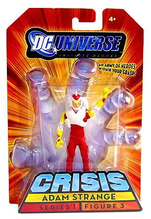 Buy Low Price Mattel DC Universe Infinite Heroes Adam Strange Figure (B001ACMC4O)